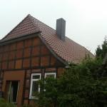 Wohnhausdach nach der Sanierung